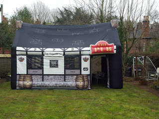 The Stagger Inn ready for an 18th birthday party