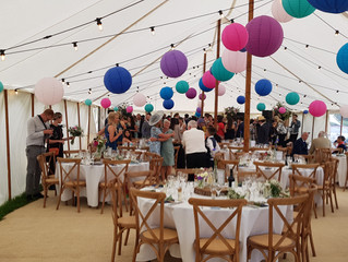 Marquee Wedding Bar in North Wales