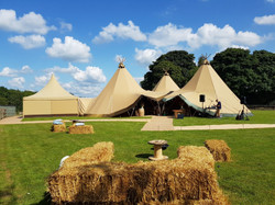 Gorgeous Day for a Tipi Wedding