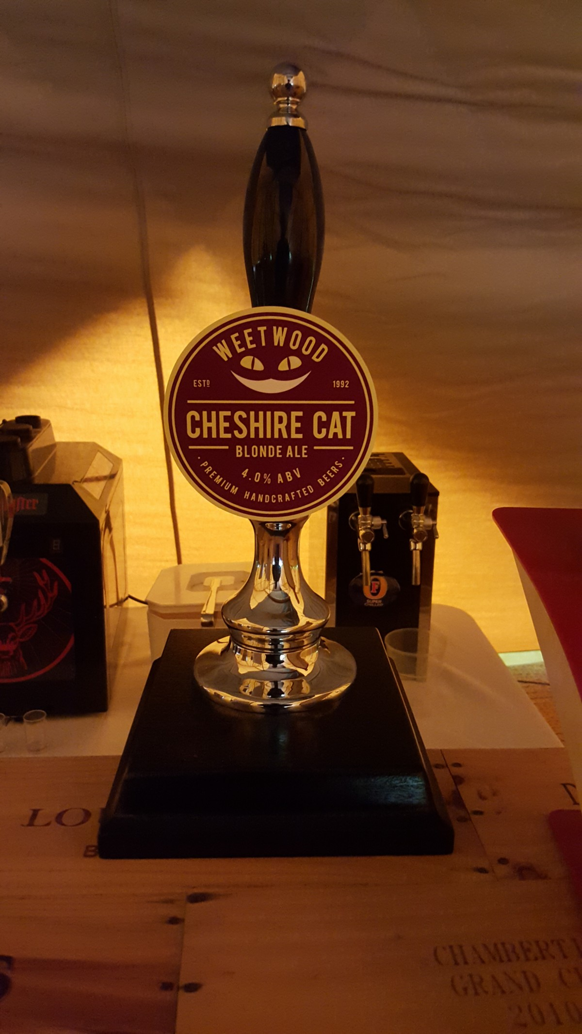 Cheshire Cat Draught Beer
