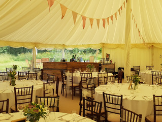 Marquee Wedding Bar near Chester