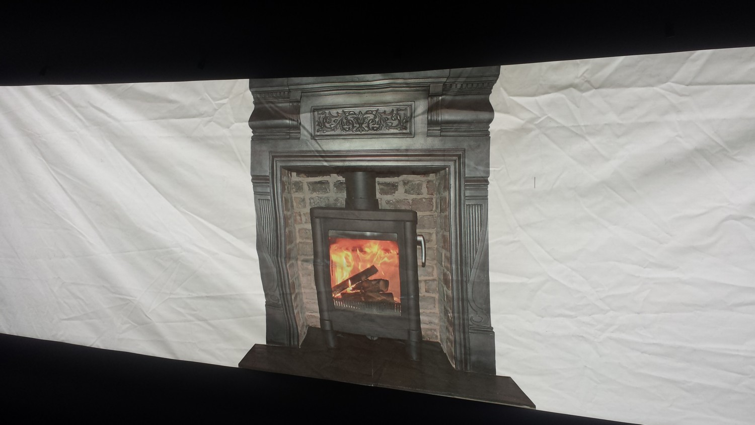 Inflatable Pub 'Fireplace'