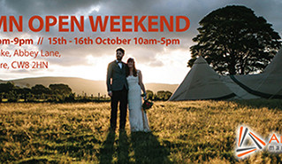 All About Me Tipis Open Weekend