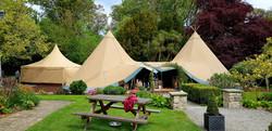 Tipi Bar Tent Anglesey