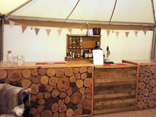 Almost Here. Tipi Spring Open Weekend