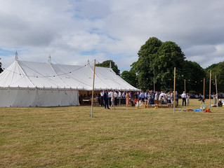 Traditional Marquee Wedding Bar in Daresbury, Cheshire