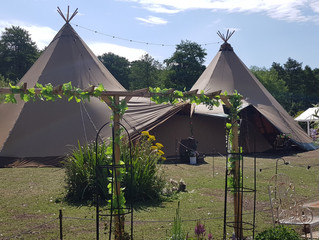 Tipi Wedding, Marple Cheshire
