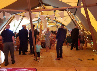 Tipi Wedding in Cheshire