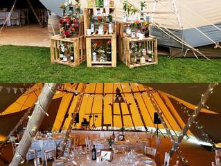Large Tipi Wedding Bar Wirral