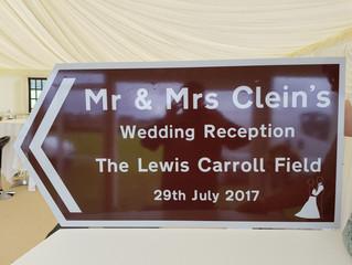 Congratulations Martin & Becky