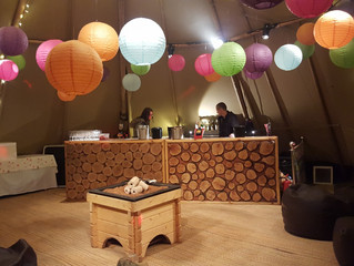 21st Birthday in a Tipi - Before the party!