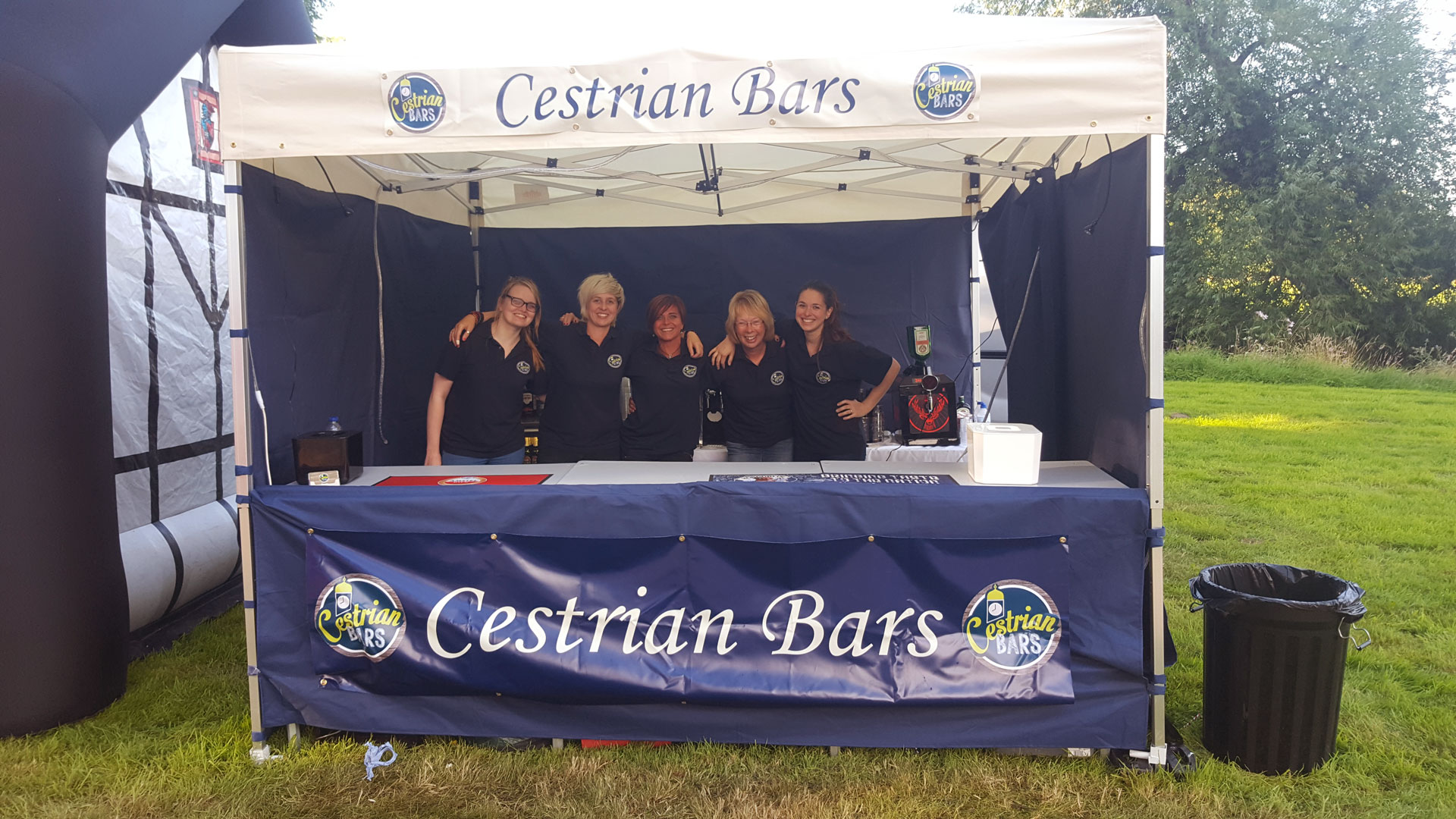 Some Of The Cestrian Bars Team
