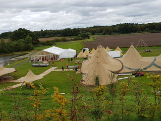 Tipi & Marquee Open Weekend, Delamere, Cheshire