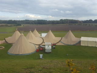 Biggest Tipi Bar Yet!