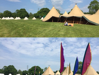 Tipi Wedding Bar in the sun, Coventry