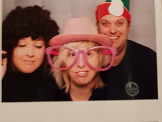 Photo Booth Fun before we run the wedding bar!