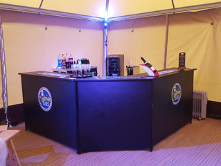 Small bar in new Bar Tent