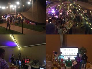 Amazing Tipi Wedding Bar in Lancashire