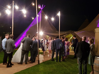 Tipi Wedding in Lancashire. Great hosts & food!