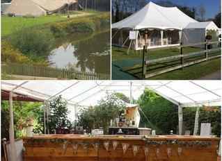 Planning your tipi or marquee wedding plus the bar....