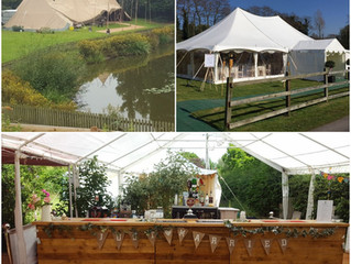 Planning your tipi or marquee wedding plus the bar...