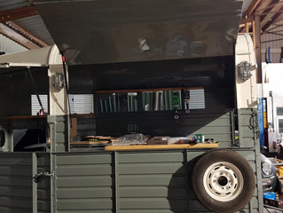 Horsebox Bar taking shape nicely