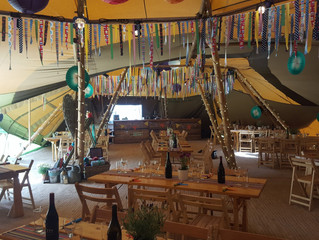 Tipi Wedding Bar in Cheshire