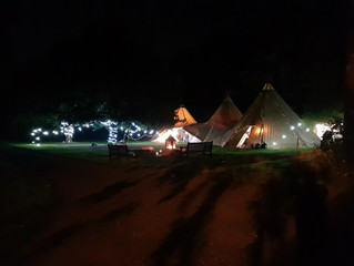 Fun Tipi Wedding Bar in Lancashire