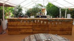 4 Metre Rustic Bar
