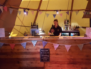 Getting your bars right for a successful Tipi, Teepee or Tepee wedding.