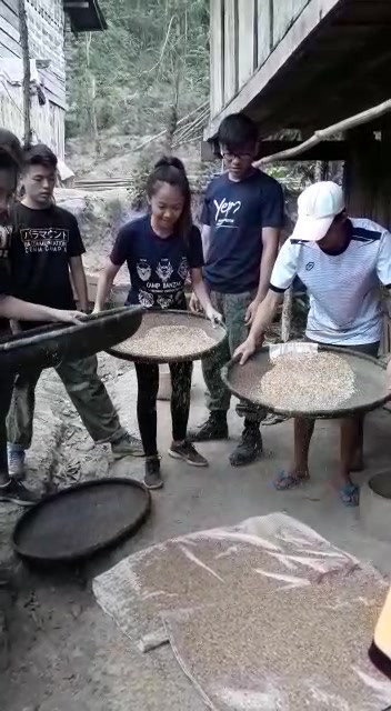 Sieving Rice