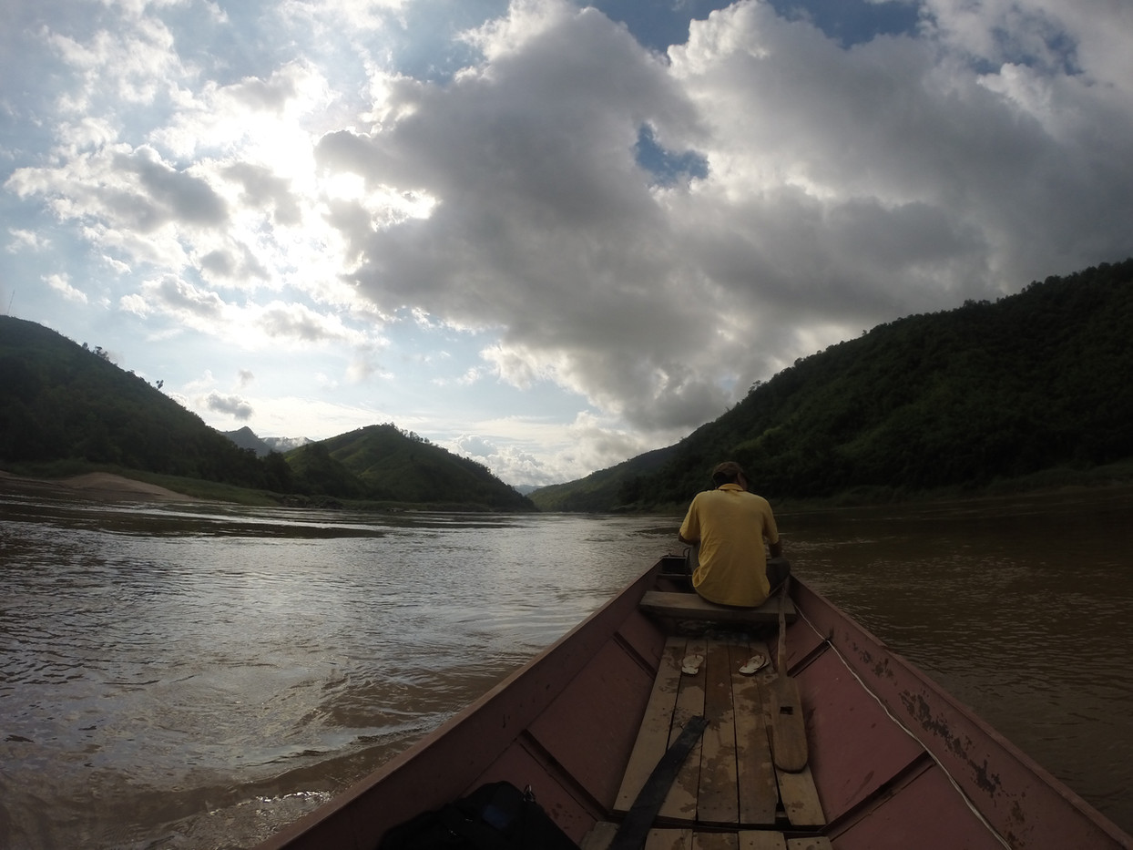 Taking a Traditional Longtail Boat
