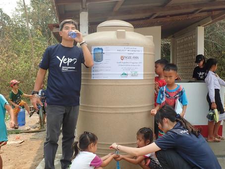 Project MyLaoDrinkingWater by YEP Ngee Ann Polytechnic @ Khokmun Village