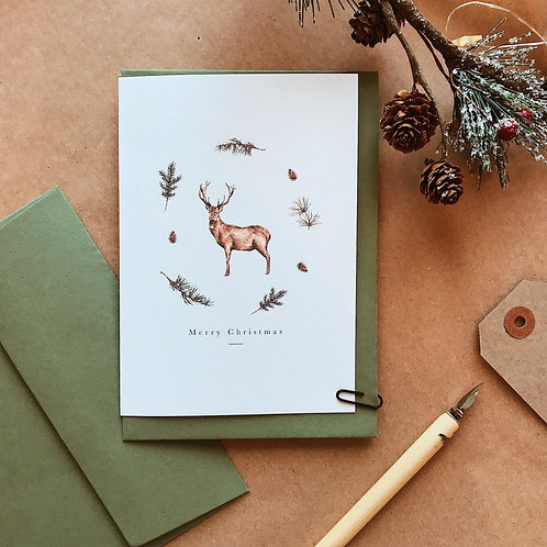 'King of the Forest' Card