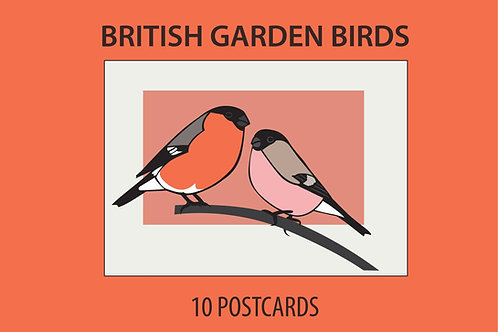 British Songbirds: Postcard Collection