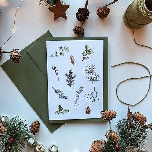 Festive Foliage Card