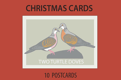 Limited Edition: Two Turtle Doves Postcard Collection