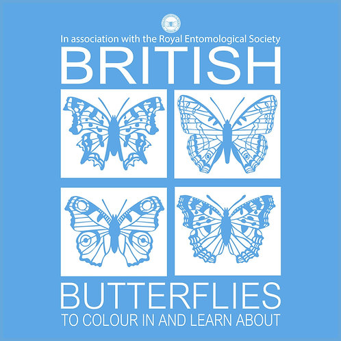 British Butterflies: To colour in and learn about