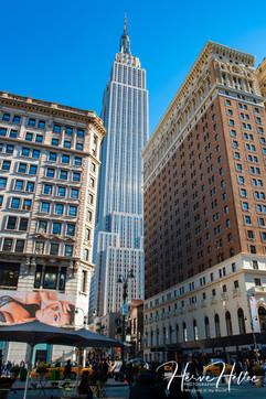 L'Empire State Building entre deux immeubles NY_0005