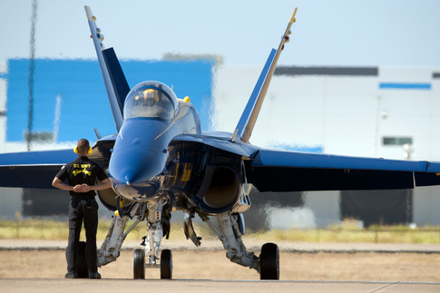 Blue Angels F/A-18 Hornet AAS_0092