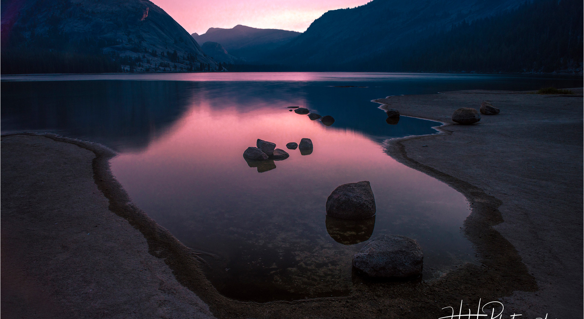 Sunrise Tenaya Lake - Yosemite - CA