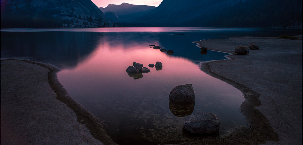 Sunrise Tenaya Lake - Yosemite - CA