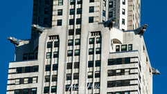 On the 61st floor, the Chrysler Building and its eight steel eagles NY_0133