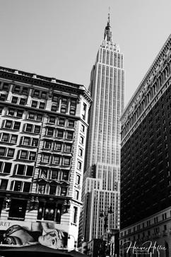 L'Empire State Building entre deux immeubles NY_0105