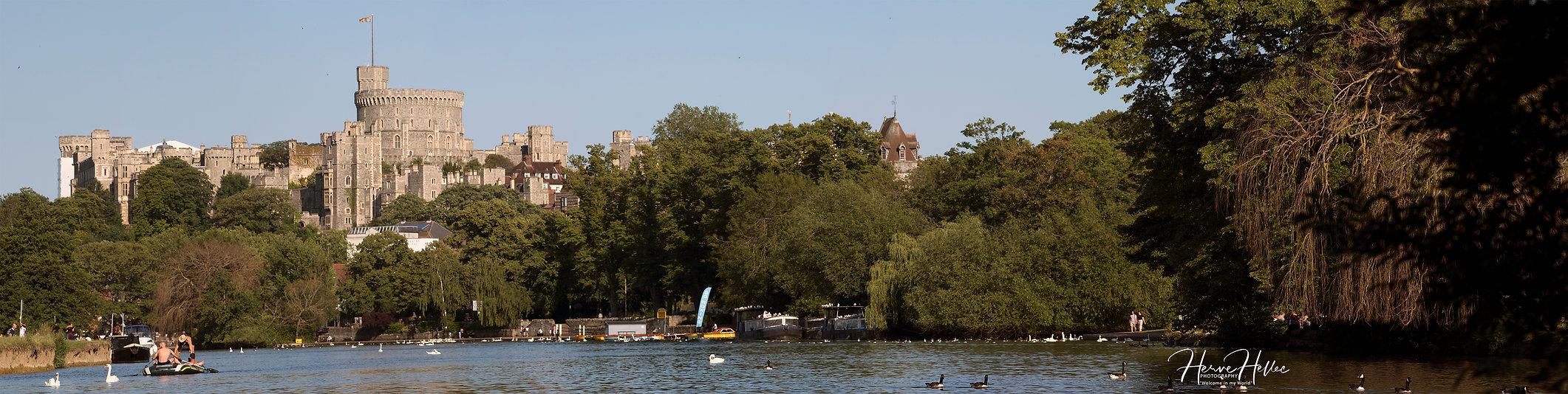 Windsor Castle & Thames - Windsor - UK S