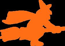 Sorcière orange