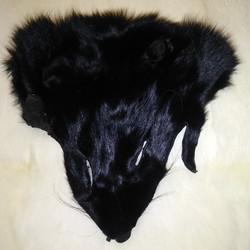 BLACK FOX HEAD