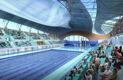 Swimming Stadium Bowl