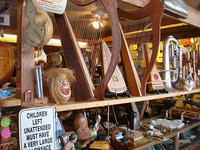 Harps at The Folk Shop