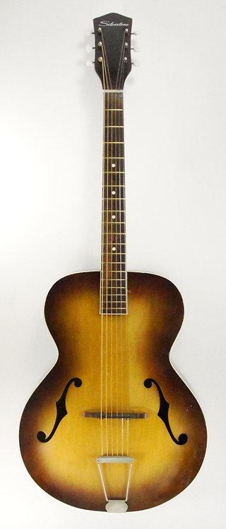 Silvertone Archtop, Honeyburst, 1950's-60's